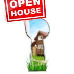 open house keyhole
